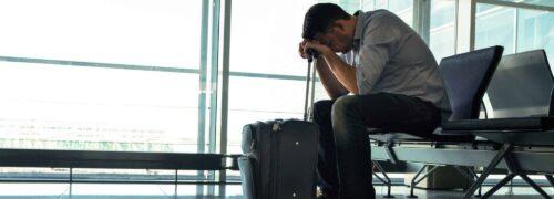 Como as pessoas reagem ao medo de avião?
